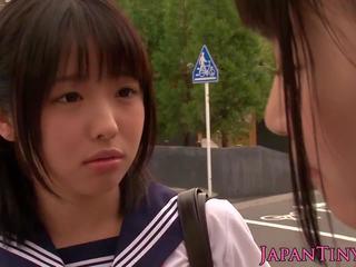 japanilainen, threesomes, kasvohoidot
