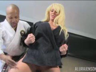Alura Jenson Karate Chops Diamond Lou Wood