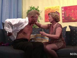 blondinen, grannies, reift