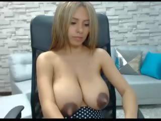 groot melk, spelen, vol webcams neuken