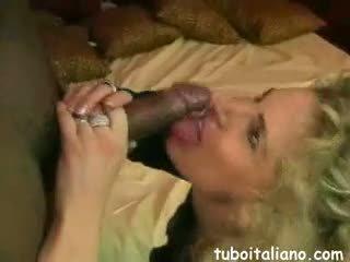Signora Italiana Con Amante Negro
