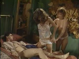 group sex, vintage, femdom
