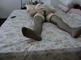 Slut Masturbating