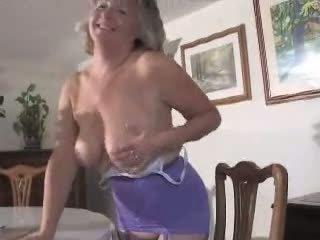 striptease karakter, bestemor noen, fersk store pupper fersk