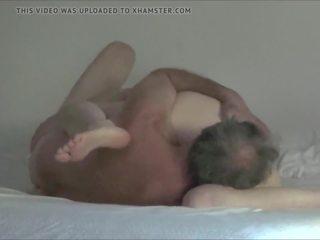 Hairy Amateur Senior Couple 69 and Fuck, Porn 7c