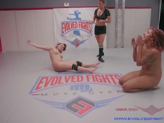 Daisy Ducati Uses Her Lethal Legs and Size Against Smaller Gabriella Paltrova