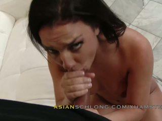 Asian Guy Jeremy Long Fucks White Girl Amara Romani Amwf