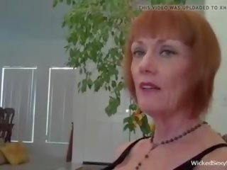 Time to Suck it Grandma, Free Wicked Sexy Melanie Porn Video