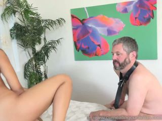 Holly Hendrix Cuckolds Husband and Makes Him Eat Cum...