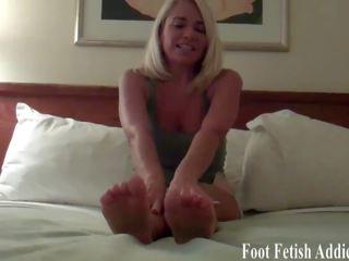 voet fetish vid, femdom film, pov gepost