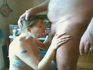 Teen Russian Girl Giving Head To Fat Guy
