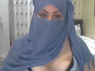 mooi video-, webcams, arabisch neuken