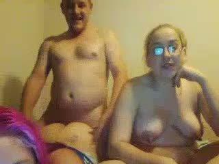 pijpen scène, trio, ideaal hd porn