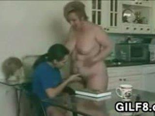 granny, blowjob, fat