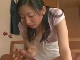 брюнетка штаб, оральний секс будь, японський