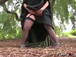 Arab nikab von striptease