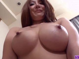 groot brunette, plezier orale seks, gratis japanse neuken