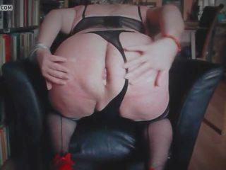 Sticking a キュウリ で 私の 脂肪 尻, フリー ポルノの 97