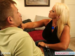full doggystyle, hottest cougar video, more shaved pussy thumbnail