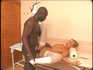 Ellen saint - svart anal maskin