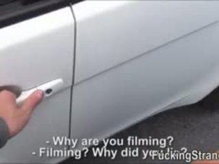 Flirty Hitchhiker Teen Foxy Outdoor Fuck With A Stranger