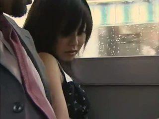 The autobusas was taip karštas - japoniškas autobusas 11 - lovers eiti w