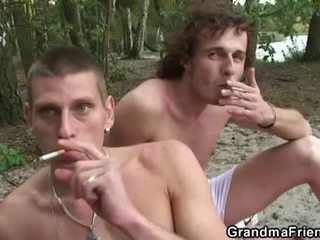 real mmf, quality mature, nice outdoor