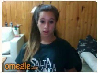 nominale brunette, meer tieners scène, groot webcam