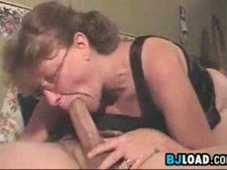 Ugly Wife Deep Throating Her Mans Cock