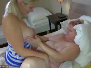Oldnanny babi in najstnice masturbate s sextoy