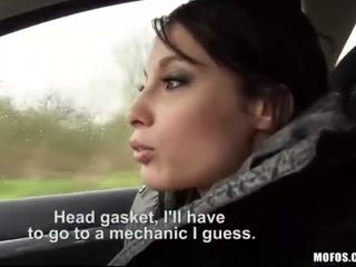 Teen Nikita Bellucci pounded in the cab