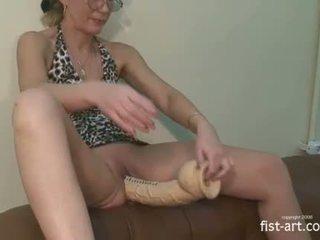 Extreme mature amateur hardcore huge toys insertions