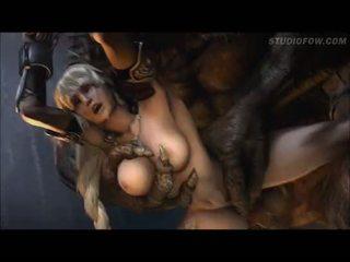 nieuw animatie porno, monster mov, heetste gedwongen