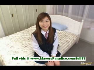 Ami hinata from idol69 petite asian girl at home talking