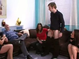 Mature-couples-have-a-cfnm-cock-competition
