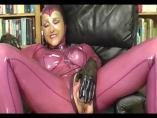 Pumped Pussy in Latex - Part 2, Free Pussy Mobile Porn Video