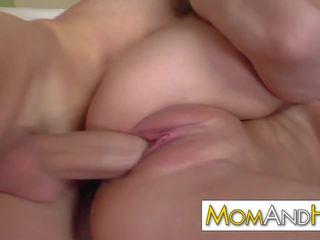 Blonde MILF Natalie Norton Takes Facial, Porn 99