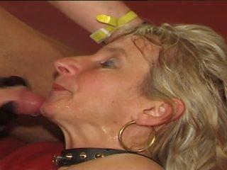 plezier sperma slikken, ideaal sperma neuken, mooi biseksueel video-