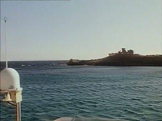Ship Scene from Vacances a Ibiza 1981 with Marylin Jess