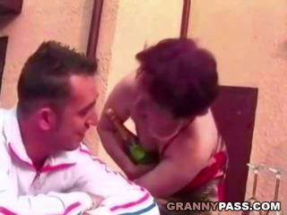 Hairy Granny Likes Young Cock and Hard Fucking: Porn 21