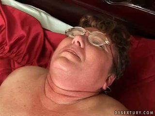 echt oud actie, mooi grootmoeder gepost, nieuw oma tube