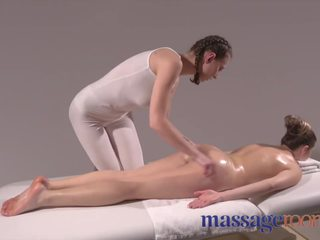 Massage Rooms Big natural tits Czech loves eating soft ripe young pussy