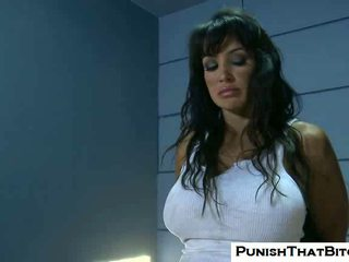 Lisa Ann gets Forced Rough Punishment