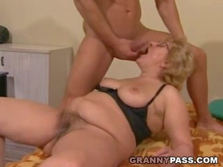 Muscular Young Guy Fucks a Fat Granny, Porn 91
