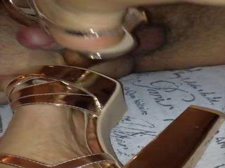 meest hoge hakken neuken, gratis voet fetish neuken, cumshot