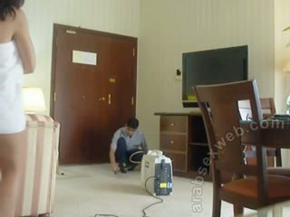 Arab คู่ teasing staff-asw1054