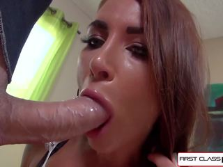 First Class POV - Felicity Take 9 Inches in Her Pretty