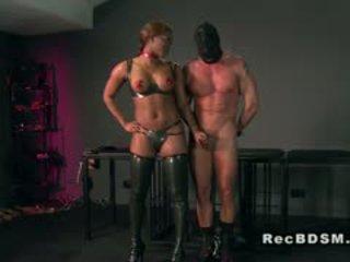 full brunette, nice big boobs, interracial film