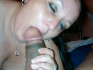Slut wife sucking and fucking big cock part 1