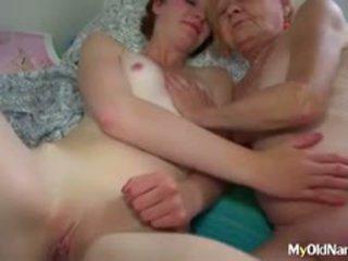 Granny Seducing Teen Porno